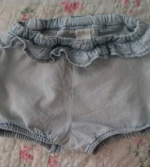 H&M teksas šorts za devojčice 86 ili za 1 do 3 god