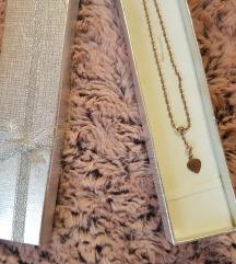 Nova srebrna ogrlica sa priveskom 925