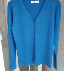 Novi plavi džemper S/M