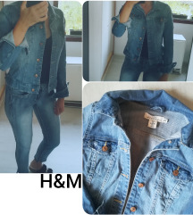 H&M TEKSAS CEPKANA JAKNA - KAO NOVA
