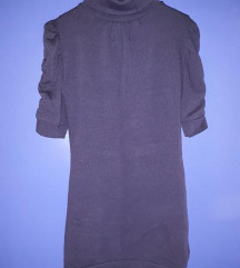 🛑Ljubicasta haljina sa puf rukavima🛑