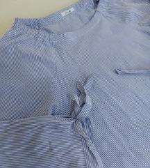 Košulja na plavo-bele prugice