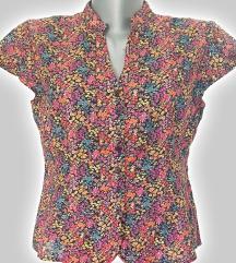 košulja H&M, flowers, veličina: 42
