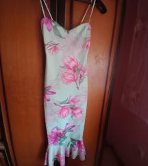Blondy cvetna haljina