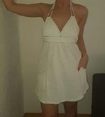 Zarina bela letnja kratka haljinica