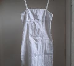 Bela haljina na bretele