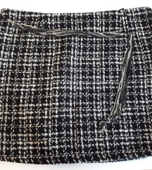 Mini suknja pepeto šara