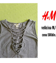 Bodi sa pertlom H&M