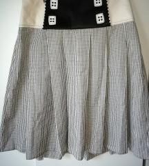 P....S.... suknja karirana