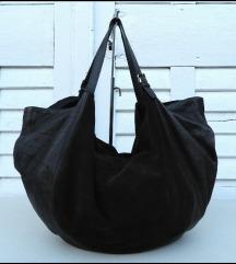 Baš velika braon kožna torba FONDO 9