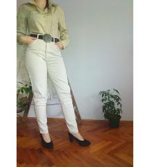 ESPRIT krem/siva košulja; L/XL
