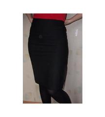 suknja uzana uz telo crna