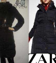 ZARA, duža perjana jakna! Predivna!!