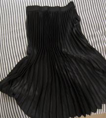 Rezz masnocrna HM plisirana suknja, vel. S