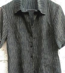 Zekstra svilenksta strukirana bluza S/M