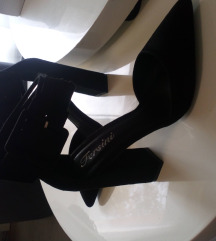 Crne elegantne cipele - SNIŽENE