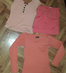 Tri bluzice