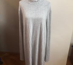 RASPRODAJA Siva haljina