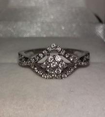 Srebrni prsten 17mm