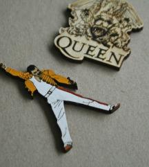 Broš/magnet - Freddie Mercury (Queen)