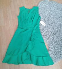 Predivna zelena haljina