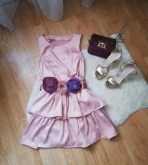 Lucido puder roze haljina