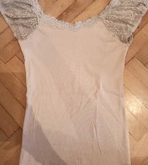 Majica od rebrastog pamuka