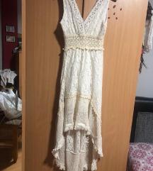Predivna cipkasta haljina