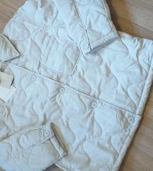 Prošivena jakna Pull&Bear.Novo.Sniženo