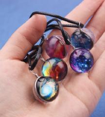 NOVO galaxy ogrlice 3D