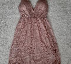 Mini roze haljinica