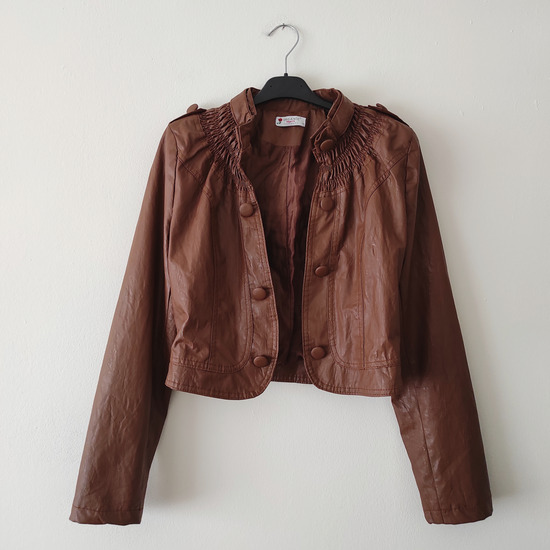 ORGANIC Collection faux leather jakna