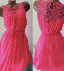 Neon Pink haljina
