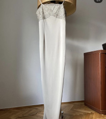 Duga svečana haljina na bretele