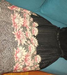 NOVO , HM haljina  sa podsuknjom 42 , L ,M