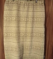 Zimska vunena suknja