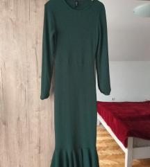 Zelena skoro nova haljina