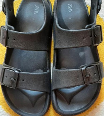 Zara sandale, br. 32, ug. 21.5, odg. br. 34
