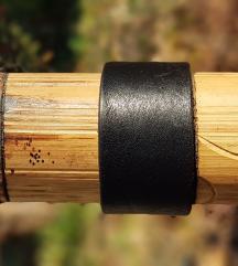Kožna narukvica Deep Black (Prirodna koža)