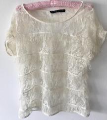 Čipkana bluza, Zara vel. L