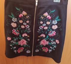 Etno mini suknja