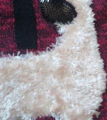 Džemper sa čupavim psom.Germany.Novo.