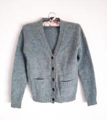 Vintage vuneni kardigan (100%vuna)