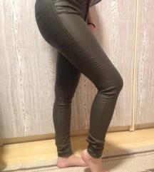 Kožne pantalone 1000din