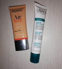 Bourjois air mat puder & Uriage hyseac serum