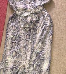 Zara snake print haljina S novo