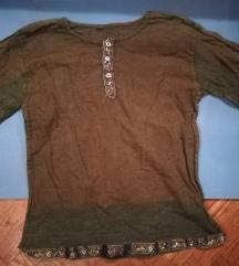 Indijska zelena bluza