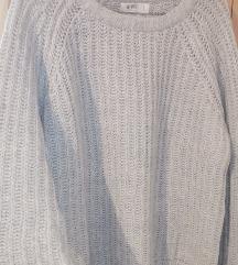 C&A We love Knit sivi dzemper