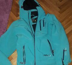 AKCIJA unisex ski jakna tirkizna L
