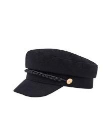 Pull & Bear crni kacket/moskovljanka